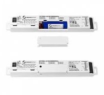 KIT EMERGENCIA P/E27-9/15W GU10-9/15W TUBO LED-15/18W 1.5/3HRS 2 BAT LITIO-ION 3.7V/2.5AH