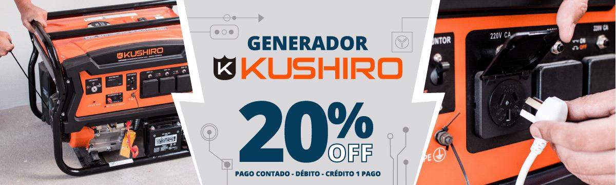 Kushiro 20 off